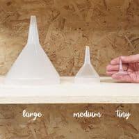 Plastic Resin Funnels